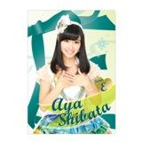 SKE48 2014年6月度個別グッズ「クリアファイル」 58種 柴田阿弥