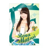 SKE48 2014年6月度個別グッズ「クリアファイル」 58種 松井玲奈