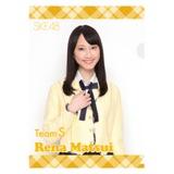 SKE48 2013年1月度個別グッズ 「SKE48 個別クリアファイル」 松井玲奈