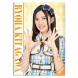 SKE48 2015年8月度個別グッズ「クリアファイル」 北川綾巴