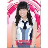 SKE48 2016年6月度個別グッズ「クリアファイル」 荒井優希
