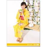 SKE48 2016年9月度個別グッズ「クリアファイル(浴衣Ver.)」 大矢真那