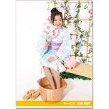 SKE48 2016年9月度個別グッズ「クリアファイル(浴衣Ver.)」 山田樹奈