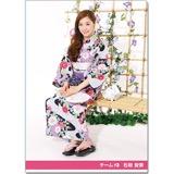 SKE48 2016年9月度個別グッズ「クリアファイル(浴衣Ver.)」 石田安奈
