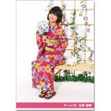 SKE48 2016年9月度個別グッズ「クリアファイル(浴衣Ver.)」 北野瑠華