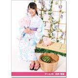 SKE48 2016年9月度個別グッズ「クリアファイル(浴衣Ver.)」 白井琴望