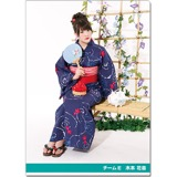 SKE48 2016年9月度個別グッズ「クリアファイル(浴衣Ver.)」 木本花音