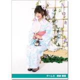 SKE48 2016年9月度個別グッズ「クリアファイル(浴衣Ver.)」 熊崎晴香