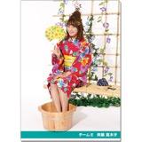 SKE48 2016年9月度個別グッズ「クリアファイル(浴衣Ver.)」 斉藤真木子