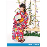 SKE48 2016年9月度個別グッズ「クリアファイル(浴衣Ver.)」 太田彩夏