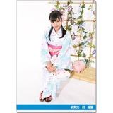 SKE48 2016年9月度個別グッズ「クリアファイル(浴衣Ver.)」 町音葉