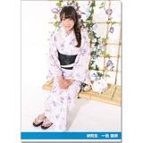SKE48 2016年9月度個別グッズ「クリアファイル(浴衣Ver.)」 一色嶺奈