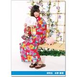SKE48 2016年9月度個別グッズ「クリアファイル(浴衣Ver.)」 水野愛理