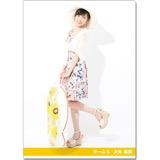 SKE48 2016年9月度個別グッズ「クリアファイル(サマーバケーションVer.)」 大矢真那