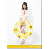 SKE48 2016年9月度個別グッズ「クリアファイル(サマーバケーションVer.)」 野口由芽