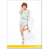 SKE48 2016年9月度個別グッズ「クリアファイル(サマーバケーションVer.)」 山内鈴蘭