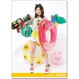 SKE48 2016年9月度個別グッズ「クリアファイル(サマーバケーションVer.)」 山田樹奈