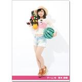 SKE48 2016年9月度個別グッズ「クリアファイル(サマーバケーションVer.)」 青木詩織