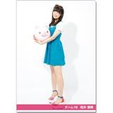 SKE48 2016年9月度個別グッズ「クリアファイル(サマーバケーションVer.)」 荒井優希