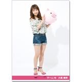 SKE48 2016年9月度個別グッズ「クリアファイル(サマーバケーションVer.)」 大場美奈