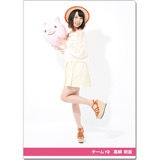 SKE48 2016年9月度個別グッズ「クリアファイル(サマーバケーションVer.)」 高柳明音