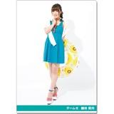 SKE48 2016年9月度個別グッズ「クリアファイル(サマーバケーションVer.)」 鎌田菜月