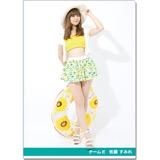 SKE48 2016年9月度個別グッズ「クリアファイル(サマーバケーションVer.)」 佐藤すみれ