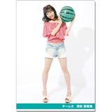 SKE48 2016年9月度個別グッズ「クリアファイル(サマーバケーションVer.)」 須田亜香里