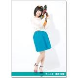 SKE48 2016年9月度個別グッズ「クリアファイル(サマーバケーションVer.)」 髙寺沙菜