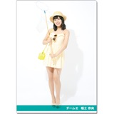SKE48 2016年9月度個別グッズ「クリアファイル(サマーバケーションVer.)」 福士奈央