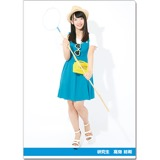 SKE48 2016年9月度個別グッズ「クリアファイル(サマーバケーションVer.)」 髙畑結希
