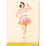 SKE48 2016年10月度個別グッズ「クリアファイル(パレオはエメラルドVer.)」 矢方美紀