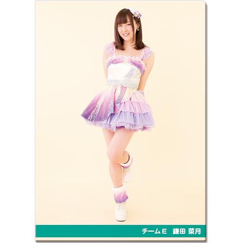 SKE48 2016年10月度個別グッズ「クリアファイル(パレオはエメラルドVer.)」 鎌田菜月