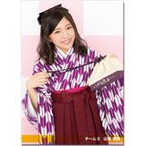 SKE48 2016年10月度個別グッズ「クリアファイル(大正ロマンVer.)」 山田樹奈