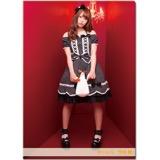 SKE48 2016年11月度個別グッズ「クリアファイル(ハロウィンIIVer.)」 竹内舞