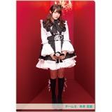 SKE48 2016年11月度個別グッズ「クリアファイル(ハロウィンIIVer.)」 木本花音