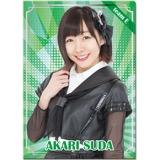 SKE48 2017年1月度個別グッズ「クリアファイル」 須田亜香里