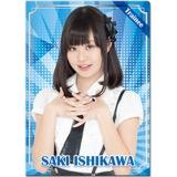 SKE48 2017年1月度個別グッズ「クリアファイル」 石川咲姫