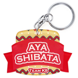 SKE48 2013年11月度個別グッズ 「SKE48 ネームキーホルダー」 柴田阿弥
