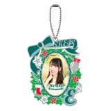SKE48 2014年12月度個別グッズ「ステンドグラス風キーホルダー」 熊崎晴香