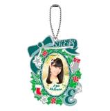 SKE48 2014年12月度個別グッズ「ステンドグラス風キーホルダー」 柴田阿弥