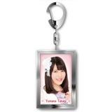 SKE48 2015年8月度個別グッズ「メタルキーホルダー」 高木由麻奈