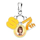 SKE48 2015年10月度個別グッズ「7周年記念3連キーホルダー」 山内鈴蘭
