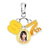 SKE48 2015年10月度個別グッズ「7周年記念3連キーホルダー」 山田樹奈