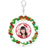 SKE48 2015年12月度個別グッズ「クリスマスリース風キーホルダー」 荒井優希