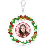 SKE48 2015年12月度個別グッズ「クリスマスリース風キーホルダー」 石田安奈