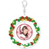 SKE48 2015年12月度個別グッズ「クリスマスリース風キーホルダー」 大場美奈