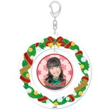 SKE48 2015年12月度個別グッズ「クリスマスリース風キーホルダー」 惣田紗莉渚