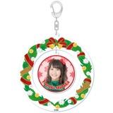 SKE48 2015年12月度個別グッズ「クリスマスリース風キーホルダー」 日高優月