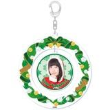 SKE48 2015年12月度個別グッズ「クリスマスリース風キーホルダー」 髙寺沙菜